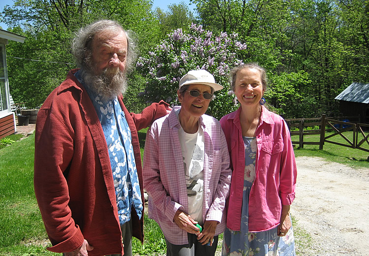 Donald Hall & Kendel Currier at Pobiz Farm