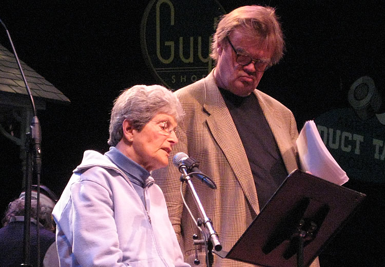 Garrison Keillor on A Prairie Home Companion on May 3, 2008